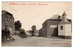 CPA Gommegnies Nord 59 Chapelle Rue Du Trié Ecole Des Filles éditeur Laffineur Samin à Hautmont - France