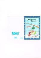 Astérix 1999 Les éditions Albert René / Goscinny-Uderzo - Meillers Voeux Bonne Année Astérix Obélix Idéfix Toutatis Gui - Stripverhalen