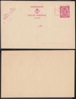 Belgique - Entier Postal Sur  Carte Postale Neuve - 75 Cts - 10%........................................ (DD) DC-7520 - Postwaardestukken