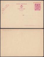Belgique - Entier Postal Sur  Carte Postale Neuve - 75 Cts - 10%........................................ (DD) DC-7521 - Postwaardestukken