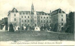 N°7381 -cpa Institut Hydrothérapique -la Rose Près Marseille- - France