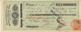 FRANCE - 1923 - Mandat - Manufacture De Lits En Fer, Meubles Et Serres De Jardin - Orléans - Frankreich