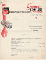 FRANCE - 1955 - Devis - Vedette SIMCA - Travaux Sur Frégate - Automobile