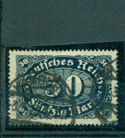 Deutsches Reich,Wertziffern Im Oval Nr. 246 C Gestempelt BPP+ Inflageprüft - Used Stamps
