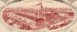 FRANCE - 1939 - Facture - Cires Françaises - Montluçon - Droguerie & Parfumerie