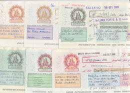 Anni 2000 CAMBIALI LOTTO DI 18 TUTTE DI VALORE DIFFERENTE IN LIRE - Cambiali
