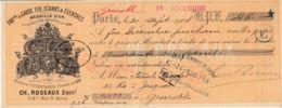 FRANCE - 1908 -Mandat - Garde Feu, écrans Et éventails - Frankreich