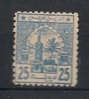 Maroc - 1913 - Postes Chérifiennes - N°Yv. 13 - Mosquée 25m Bleu - Neuf Luxe ** / MNH / Postfrisch - Poste Locali