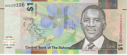 BILLETE DE BAHAMAS DE 1 DOLLAR DEL AÑO 2017  (BANKNOTE) SIN CIRCULAR-UNCIRCULATED - Bahamas