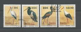Namibia 1994 Stork  Y.T. 732/735 (0) - Namibië (1990- ...)
