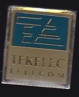 64753-Pin's-Tekelec Temex.Telecom. Villebon Sur Yvette - France Telecom