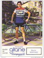 Carte Cyclisme Coureur Cycliste Gitane Martin MARTINEZ - Cyclisme