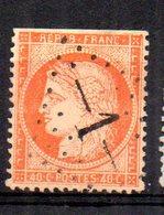 France : Gros Chiffre  N° 1 Abbeville   ( Somme) Indice 14 - Marcophilie (Timbres Détachés)
