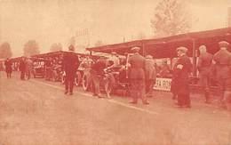 GRAN PREMIO DE ITALIA 1924.- EL EQUIPO ALFA ROMEO,MOMENTOS ANTES DE LA SALIDA - Grand Prix / F1