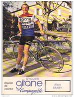 Carte Cyclisme Coureur Cycliste Gitane Alain SANTY - Cyclisme
