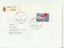 CH R-CV 1981 ,3901 - Luftpost