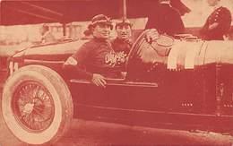 GRAN PREMIO DE ITALIA 1924.- MINOIA, SOBRE ALFA ROMEO, ANTES DE TOMAR LA SALIDA - Grand Prix / F1