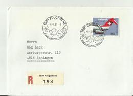 CH R-CV 1981 1838 - Poststempel