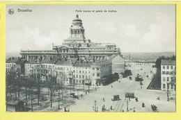 * Brussel - Bruxelles - Brussels * (Ed Nels, Série 1, Nr 76) Porte Louise Et Palais De Justice, Tram Vicinal, Rare - Bruxelles-ville