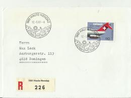 CH R-CV 1981 1961 - Poststempel