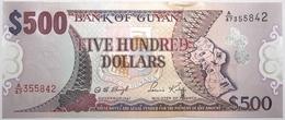 Guyana - 500 Dollars - 2002 - PICK 34b - NEUF - Guyana