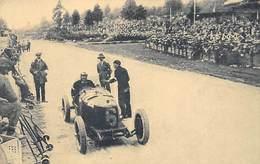 GRAN PREMIO DE EUROPA 1925 (CIRCUITO DE SPA).- CAMPARI EN EL MOMENTO DE LLEGAR A LA BOX ALFA ROMEO PARA REVITUALLAMIENTO - Grand Prix / F1