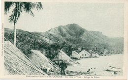 Etablissements Français De L'Océanie : Iles Sous Le Vent . Village De Tahaa . - Polynésie Française