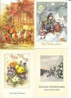 Lot N° 112 De 250 Cartes Fêtes Et Voeux, France Allemagne: Bonne Année, Pâques, Noël, Frohes Eues Jahr - 100 - 499 Cartoline