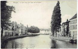 BRUGES - Le Quai Long Et Le Quai De La Poterie - Nels Série Bruges N° 49 - Brugge