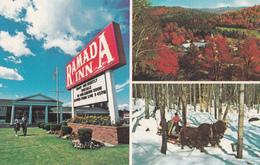 Burlington Vermont VT USA - Ramada Inn Hotel Motel - Unused - 2 Scans - Burlington