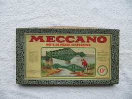 Boîte VIDE Jeu De Construction MECCANO - N°  0 A    (4816) - Jouets Anciens