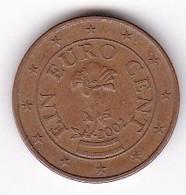 2002 Euro 0,01 - Autriche