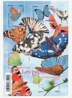 France Frankreich 2010 Yvert No. F4498 **, Michel Block 133 **, Schmetterlinge, Papillons - Ungebraucht