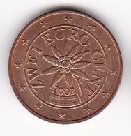 2002 Euro 0,02 - Autriche