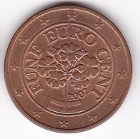 2002 Euro 0,05 - Autriche