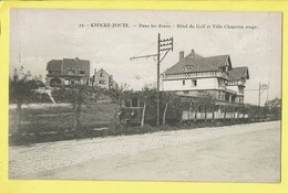 * Knokke Zoute - Cnocke Le Zoute (Kust - Littoral) * (Henri Georges, Nr 22) Dans Les Dunes, Hotel Du Golf, Tram, Vicinal - Knokke