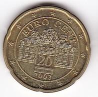 2002 Euro 0,20 - Autriche