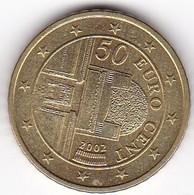 2002 Euro 0,50 - Autriche