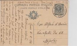 1920. Annullo Ambulante AMB ROMA - BARI 129 (B), Su Cartolina Postale - Storia Postale