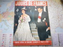 Jour De France N°127 20 Avril 1957 Elizabeth Et Philip à Paris / - Gente