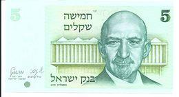ISRAEL 5 SHEQALIM 1978 UNC P 44 - Israel