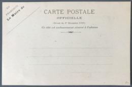 France - Carte Postale Officielle - En Franchise Le Maire De... - (W1131) - Entiers Postaux