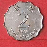 HONG KONG 2 DOLLARS 1993 -    KM# 64 - (Nº35094) - Hong Kong