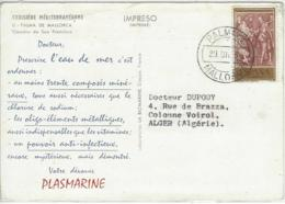 CARTE ESPAGNE PUB MEDICALE PLASMARINE - 1931-Tegenwoordig: 2de Rep. - ...Juan Carlos I