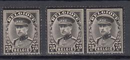 Belgie - Belgique Ocb Nr :  384 ** MNH     (zie  Scan) - 1931-1934 Mütze (Képi)