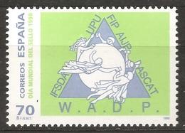 Espagne España 1998 N° 3159 ** Journée Du Timbre, Philatélie, UPU, Union Postale Universelle, Timbres, Commerce, Indien - 1991-00 Nuovi