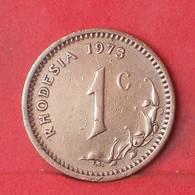 RHODESIA 1 CENT 1973 -    KM# 10 - (Nº35106) - Rhodésie