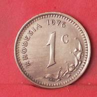 RHODESIA 1 CENT 1976 -    KM# 10 - (Nº35108) - Rhodésie