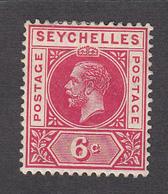 Seychelles 1912 6c  SG73a  MH - Seychelles (...-1976)