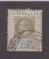 Seychelles 1912 12c  SG74  Used - Seychelles (...-1976)